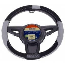 Cubre volante sport- Negro/Gris